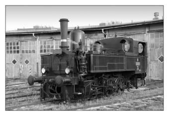 Parní lokomotiva 310.0134 v depu Turnov dne 23.8.2008. Foto Miloslav Nečas (41)