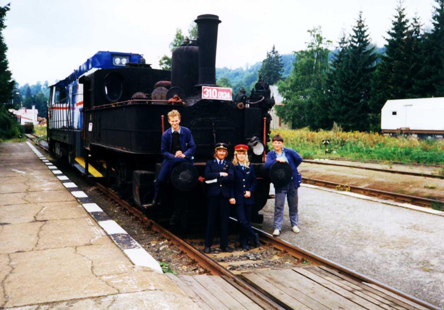 před přepravou z Kořenova 1993