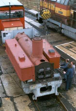 po montáži vodních van před přepravou z Turnova do Lužné