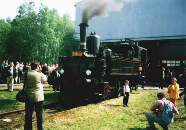 10.5.2002 - první oficiální předvedení při příležitosti zahájení sezóny v muzeu Lužná u Rakovníka (foto Martin Šritr)